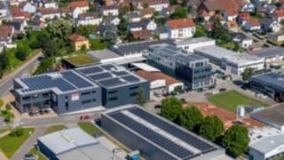 Luftaufnahme Hofmann Födertechnik GmbH